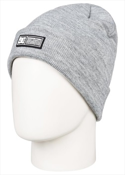 DC Label Ski/Snowboard Beanie Hat, One Size Neutral Heather Grey