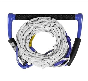 "Jobe 15"" Easy Up Deluxe Water Ski Rope| Handle, Deep V Blue 2020"