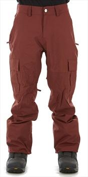 Bonfire Tactical Ski/Snowboard Pants, L Maroon