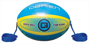 "O'Brien Shock Ball Towables Rope Float, 60"" Blue Yellow 2020"