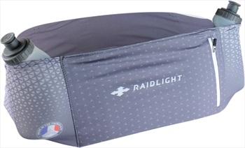 Raidlight Stretch Raider Runner's Waist Belt / Bum Bag, XL Grey