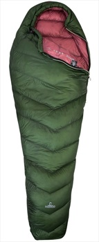 NOMAD® Orion 180 Ultralight Down Sleeping Bag, Short Dill Green LZ