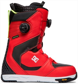 DC Shuksan Boa Snowboard Boots, UK 9 Racing Red 2020