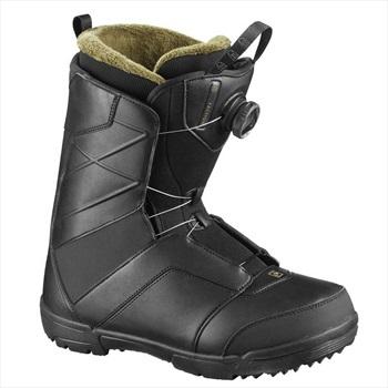 Salomon Faction Boa Men's Snowboard Boots, UK 9 Black 2020