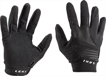 Leki Master Long Nordic Walking & Trekking Gloves, XL Black
