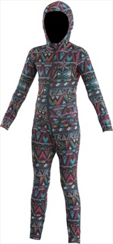 Airblaster Youth Ninja Thermal One Piece Suit, M Wild Tribe