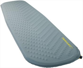 ThermaRest Trail Lite Self Inflating Camping Pad, Regular Trooper Grey