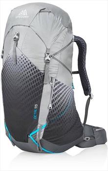 Gregory Womens Octal 55 Medium Ultralight Trekking Backpack Frost Grey