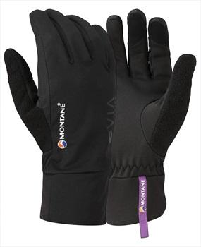 Montane Via Trail Women's Softshell Running Glove, M Black