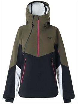 Oakley Phoenix 2.0 Shell Women's Ski/Snowboard Jacket, XS Dark Brush