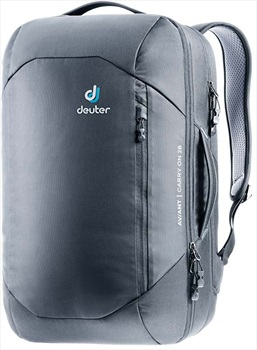 Deuter Aviant Carry On 28 Travel Backpack, 28L Black