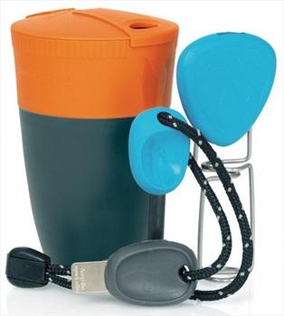 Light My Fire Grill 'N Chill Kit Campfire Utensil Set, Orange/Blue