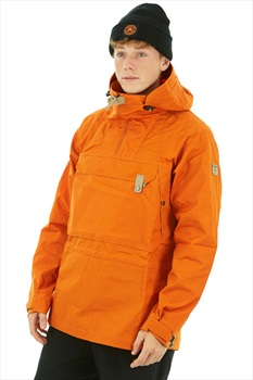 Sasta Adult Unisex Katmai Men's Anorak, S Orange