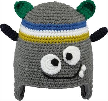 Barts Monster Kid's Ski/Snowboard Beanie Hat One Size Dark Grey
