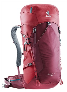 Deuter Speed Lite 32L Ultralight Backpack, 32L Maroon-Cranberry