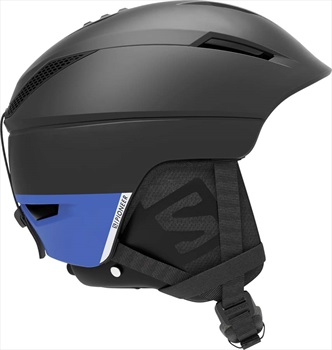 Salomon Pioneer C.Air Snowboard/Ski Helmet, L Black/ Race Blue