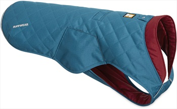 Ruffwear Stumptown Jacket Insulated Dog Coat, L Metolius Blue