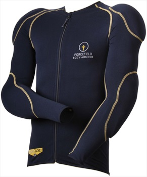 Forcefield Sports Jacket 1 Body Armour With Back Protector, M Navy