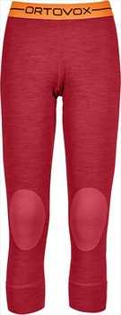 Ortovox Rock'n'Wool Short Women's Thermal Pants, XS Hot Coral Blend