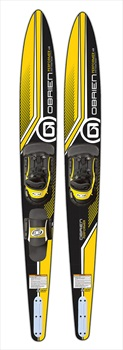 """O'Brien Performer and X-8 RT Waterski Combo, 68""""/172cm Black Yel. 2020"""