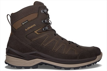 Lowa Toro Evo GTX Mid Men's Hiking Boots, UK 10.5 Dark Brown/Taupe