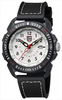 Luminox ICE-SAR Arctic 1000 Series Wrist Watch, Silver/Black