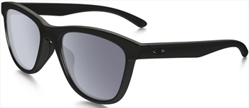 Oakley Moonlighter Grey Sunglasses, Polished Black