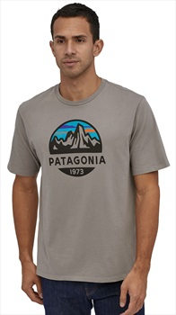 Patagonia Fitz Roy Scope Organic T-Shirt, XL Feather Grey