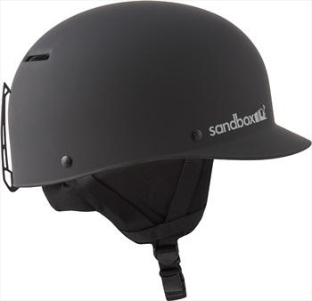 Sandbox Classic 2.0 Snow Ski/Snowboard Helmet, L Matte Black