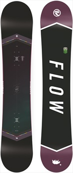 Flow Venus Black Women's Hybrid Camber Snowboard, 151cm 2018