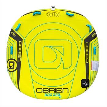 O'Brien Boxxer ST Towable Inflatable Deck Tube, 2 Rider Yellow 2020