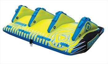 O'Brien Apex Deck Towable Inflatable Tube, 3 Rider Blue 2019