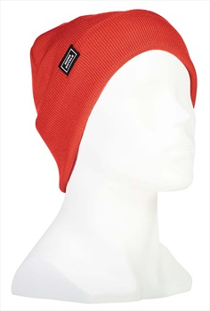 Mons Royale McCloud Merino Wool Beanie Hat, One Size Poppy