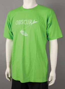 Liquid Force Team Obscura Wakeskate T Shirt, Large, Lime Green