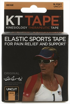 KT Tape Cotton Original Uncut Kinesiology Tape, 16ft Beige