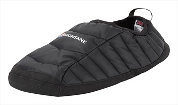 Montane Adult Unisex Icarus Hut Insulated Camping Slippers, M Black