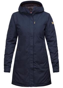 Fjallraven Kiruna Padded Parka Women's Insulated Jacket M Dark Navy