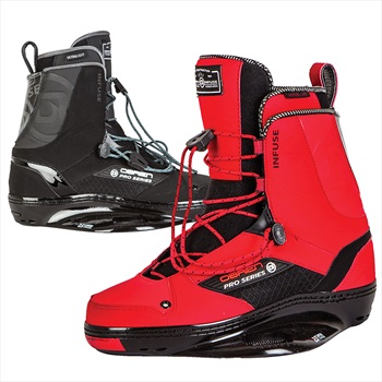 O'Brien Infuse Pro Series Wakeboard Binding, UK 5-7 Red