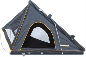 Tentbox Cargo Roof Tent Compact Camping Pod + Cargo Rack, 2 Man