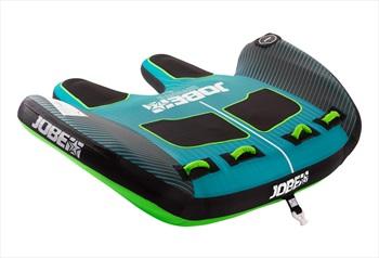Jobe Revolve Towable Inflatable Tube, 2 Rider Blue Black 2020