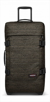 Eastpak Tranverz M Wheeled Bag/Suitcase, 78L Twinkle Gold