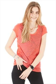 Icebreaker Sphere Short Sleeve Scoop Women's Merino T-Shirt, M Red
