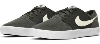 Nike SB Portmore II Solar Skate Shoes, UK 8.5 Sequoia/Pale Ivory