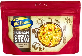 Bla Band Indian Chicken Stew Camping & Backpacking Food, Single Pouch