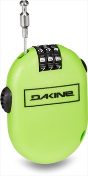 Dakine Micro Snowboard/Ski Cable Security Lock, Green