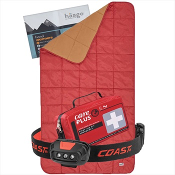Absolute Emergency Winter Car Survival Kit | Gift Set: Red