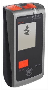 Mammut Barryvox 3-Antenna Avalanche Transceiver Beacon, Black