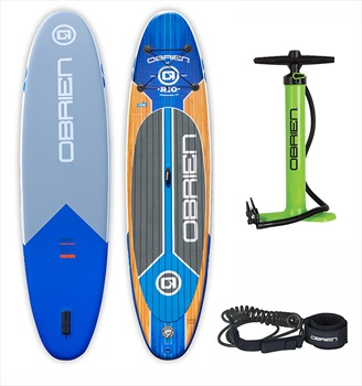 O'Brien Rio ISUP Paddleboard With Pump and FREE Leash, 11' Blue 2020
