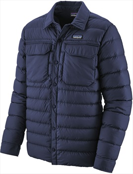 Patagonia Silent Down Insulated Shirt Jacket, S Classic Navy