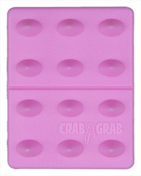 Crab Grab Mini Shark Teeth Snowboard Stomp Pad, Bubblegum